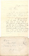Brief Lettre - Naar Militair Soldat Frans Wolfs Van Genappe , 2 /3/ 1940 + Enveloppe - Non Classés