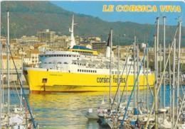 CPM - Carte Postale - Bateau - Corse - Carre Ferry Corsica Viva - édit U SEGNU - Ferries