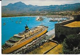 CPM - Carte Postale - Bateau - Corse - Carre Ferry De La Sea Club à Calvi - Ferries
