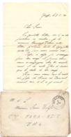 Brief Lettre - Naar Militair Soldat Frans Wolfs Van Genappe , 1 /2/ 1940 + Enveloppe - Non Classés