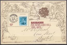 1979Barbados463/B12Rowland Hill - Rowland Hill