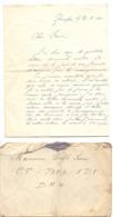 Brief Lettre - Naar Militair Soldat Frans Wolfs Van Genappe , 26 /2/ 1940 + Enveloppe - Non Classés