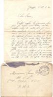 Brief Lettre - Naar Militair Soldat Frans Wolfs Van Genappe , 22 /2/ 1940 + Enveloppe - Non Classés