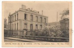 CPA / CPSM 9 X 14  Seine PARIS Hôpital Privé De Dr De Martel Rue Vercingetorix - Health, Hospitals
