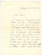 Brief Lettre - Naar Militair Soldat Frans Wolfs Van Genappe , 4 /2/ 1940 - Non Classés