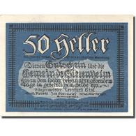 Billet, Autriche, Siezenheim, 50 Heller, Paysage, 1920 SPL, Mehl:FS 996c1 - Autriche