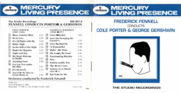 CD N°2356 - MERCURY - FREDERICK FENNELL CONDUCTS PORTER & GERSHWIN - COMPILATION 12 TITRES - Classical