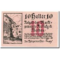 Billet, Autriche, Rossatz, 10 Heller, Statue, SPL, Mehl:FS 848b - Austria