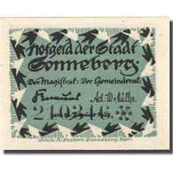 Billet, Allemagne, Sonneberg, 10 Pfennig, Personnage, 1921 SPL Mehl:1244.1a - Allemagne