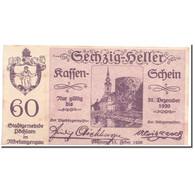Billet, Autriche, Pochlarn, 60 Heller, Eglise, 1920, 1920-02-15, SPL, Mehl:755II - Autriche