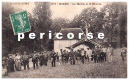 46 Alvignac  Miers  Le Matin à La Source  Le Couderc - Francia