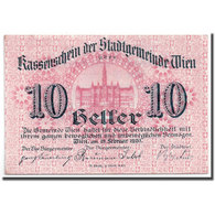 Billet, Autriche, Vienne, 10 Heller, Château, 1920, 1920-06-30, SPL - Autriche