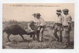 - CPA EN CAMARGUE (13) - Muselado à La Manade YONNET - Renversement De L'anouble (belle Animation) - - Francia