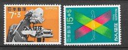 Japon   N°  854 Et 855  Rayons X       Neufs * *  = MNH  VF     Soldé ! ! !     Le Moins Cher Du Site ! ! ! - Physics