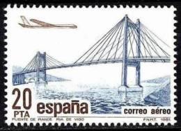 España. Spain. 1981. Puente De Rande Sobre La Ria De Vigo. Bridge. - Brücken