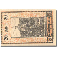 Billet, Autriche, Säusenstein, 20 Heller, Eglise, 1920 SPL Mehl:FS 950a - Autriche