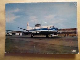 AEROPORT / AIRPORT / FLUGHAFEN   BALE MULHOUSE  VISCOUNT AIR INTER - Aeródromos