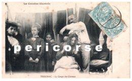19  Treignac   La  Coupe Des Cheveux  Vue Rare - Treignac