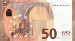 ! 50 Euro R029A1, RD0014400804, Currency, Banknote, Billet Mario Draghi, EZB, Europäische Zentralbank - EURO