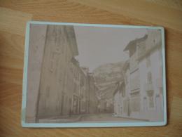 1898 Nantua Une Rue Photo Ancienne - Foto's