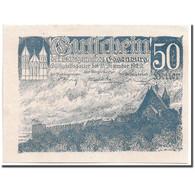 Billet, Autriche, Eggenburg, 50 Heller, Paysage, 1920, 1920-12-31, SPL - Autriche