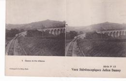 OLORON(CARTE STEREO) TRAIN - Stereoscopische Kaarten