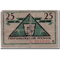 Billet, Allemagne, Düsseldorf, 25 Pfennig, Ecusson, 1919, 1919-10-15, SPL - Allemagne