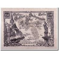 Billet, Autriche, Ybbs, 20 Heller, Château, 1920, 1920-12-31, SPL, Mehl:FS - Autriche