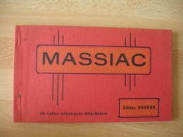 Massiac Canet De 20 Cartes Edi Boudon - Autres Communes