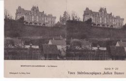 MONTIGNY LE GANNELON(CARTE STEREO) - Stereoscopische Kaarten