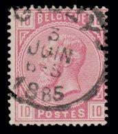 "COB N° 38 - Belle Oblitération S.C. ""CINEY"" - 1869-1883 Léopold II"
