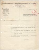 Toulouse Sep 1946  Doc - Union Commerciale Des Chaux Et Ciments Du Littoral - Frankreich