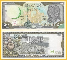 Syria 500 Lira P-110 1998 UNC - Siria