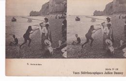 BAIGNEUR(CARTE STEREO) - Stereoscopische Kaarten