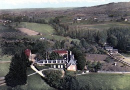 CUBJAC  Vue Aérienne Du Château Du Maine - France