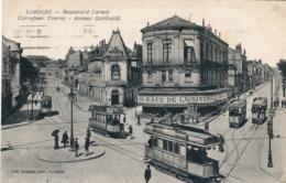 CPA - France - (87) Haute-Vienne - Limoges - Boulevard Carnot - Limoges