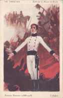 CPA - Pub - Publicité - Publicitaire - RICQLES - Edmond Rostand - Werbepostkarten