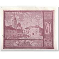 Billet, Autriche, Haag, 20 Heller, Ange, 1920, 1920-12-31, SPL, Mehl:FS 318 - Autriche