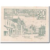 Billet, Autriche, Eggenburg, 20 Heller, Ville, 1920, 1920-12-31, SPL, Mehl:162d - Autriche