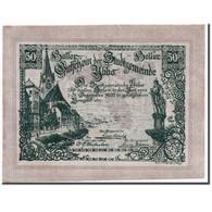 Billet, Autriche, Ybbs, 50 Heller, Château, 1920, 1920-12-31, SPL, Mehl:FS - Austria