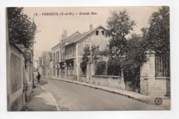 - CPA VERNEUIL (78) - Grande Rue - Photo L'Abeille N° 18 - - Verneuil Sur Seine