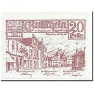 Billet, Autriche, Eggenburg, 20 Heller, Ville, 1920, 1920-12-31, SPL, Mehl:162b - Austria