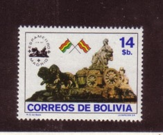 BOLIVIE 1980 ESPAMER   YVERT N°603 NEUF MNH** - Bolivie