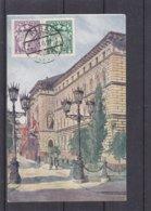 Lettonie - Carte Postale De 1927 - Oblit Riga - Exp Vers Rohrbach A/d Gölsen - Vue Du Parlemant à Riga - Lettland