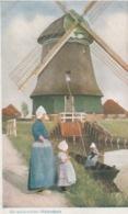 19 / 10 / 295. -  MOULINS  EN  HOLLANDE - 2  CPA - Agricultura