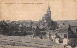 Quiévy (59) - Vue Panoramique Et Route De Solesmes - Otros Municipios