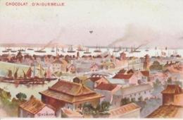 19 / 10 / 296  - YOKOHAMA   ( JAPON )  -  PUB  CHOCOLAT D'AIGUEBELLE - Werbepostkarten