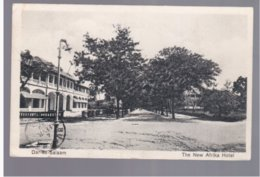 TANZANIA Dar- Es- Salaam The New Afrika Hotel 1929  Old Postcard - Tanzania