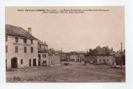 - CPA FAY-SUR-LIGNON (43) - La Place Du Foirail Et La Nouvelle Fontaine (HOTEL FARGIER) - Editions Margerit-Brémond 6810 - Francia