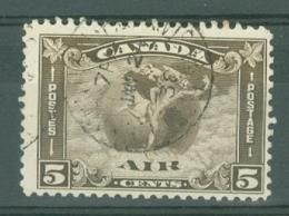 Canada: 1930   Air - Mercury    SG310    5c     Used - Used Stamps